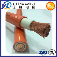 Flexible Copper Conductor Rubber Welding Cable 16mm2 25mm2 35mm2 50mm2 70mm2