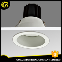 China manufactured embedded 7w led drop ceiling light fixture
