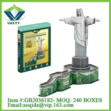 Christ the Redeemer world famous plastic 3D puzzle building game