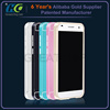 For Huawei G7 aluminum screwless bumper metal case for Huawei with PC board case