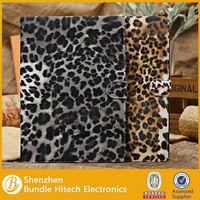 luxury fashion leopard case for ipad air accessory