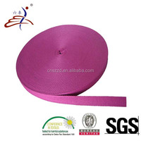 Thick Non-elastic Plain Weave Polyester Tape