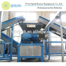Used Scrap Tire Shredder Recycling Plant for 50-150mm Rubber Chips in Best Price