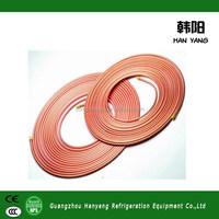 pre insulated copper pipe , flexible copper tube , pvc coated copper tube