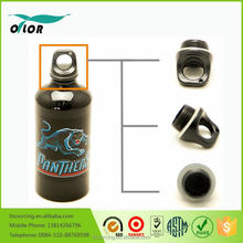 Wholesale good price best quality black water sports bottle with a panther logo