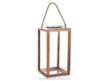 Solid framed glass candle holder_Lantern