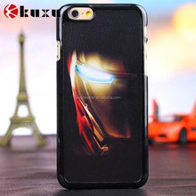 Luxury rubber hybrid tough armor case for iphone 6