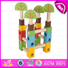 2015 new wooden building blocks,popular wooden blocks Christmas gift,high quality wooden building blocks W13A055