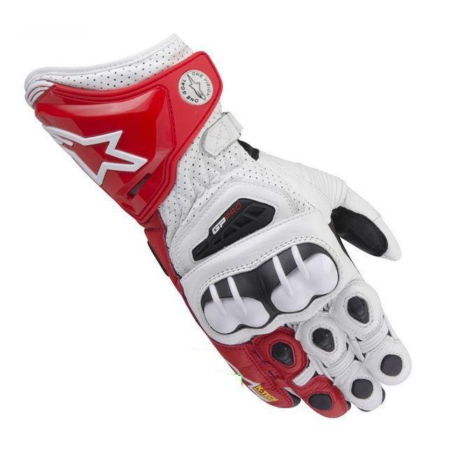 Бесплатные shipipng новый альпийский/звезды gp/pro оригинальные Мужские кожаные перчатки оранжевый вождения мотоцикла