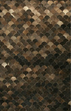 Cow Hide Leather Carpet