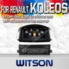 WITSON FOR RENAULT KOLEOS 2014 DVD WITH STEERING WHEEL CONTROL WITH 1.6GHZ FREQUENCY STEERING WHEEL SUPPORT RDS BLUETOOTH GPS