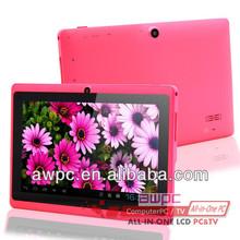 Awpc mejor- venta de android tablet con un alto rendimiento