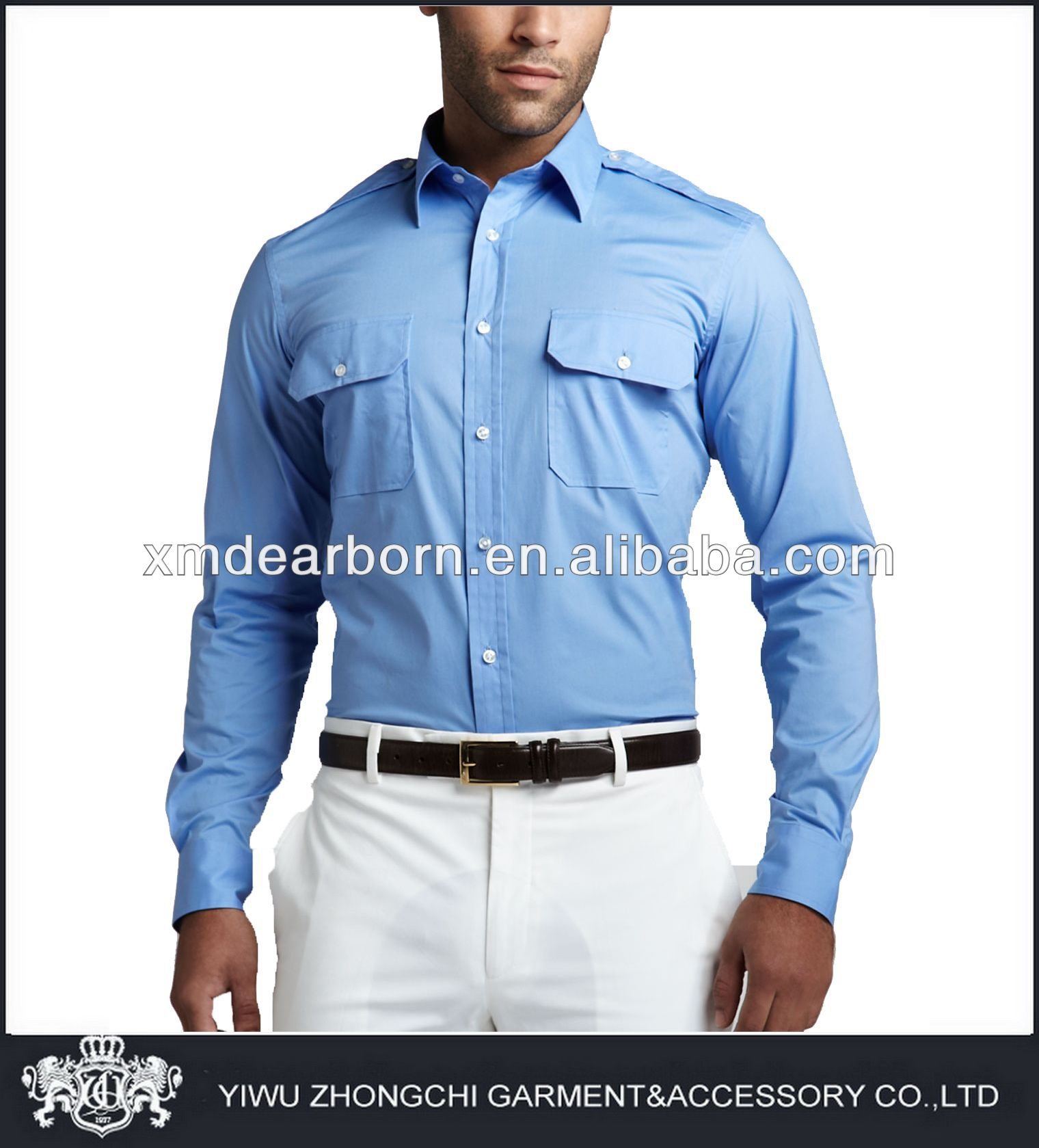 mens uniform shirts with epaulets buy uniform shirts