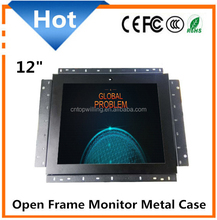 12 inch display 12 inch open frame monitor