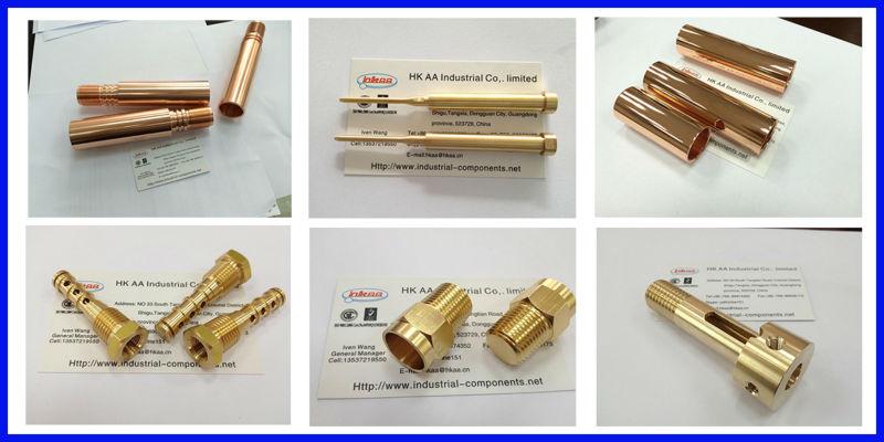 brass, copper parts