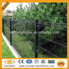ISO factory hot dipped galvanized PVC coated decorative backyard fence