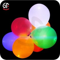 2015 Brilliant Holiday and Event Article LED Flying Light Balloon with Custom Logo