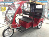 Electric adult big wheel tricycles with passenger seat with wagon