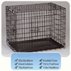 2015 High quality !! welded wire cheap dog cage / pet cage with tray