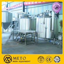 2000L craft and draft beer brewery and brewing system and machine