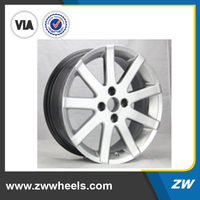 ZW-Z7202 gun metal car alloy wheel with full size