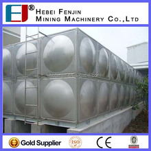 High Strong 316 Pressed Stainless Steel Sectional Water Tank For School Using