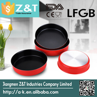 2015 red coating round Baking Dishes for sale