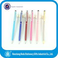 2 in 1 cheap pen smart phone slim stylish pen touch screen 2014
