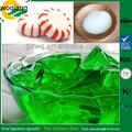 Buena emulsión natural de gelatina se utiliza en la industria de alimentos para los caramelos, melcochas, torta, etc.