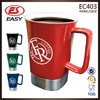 Wholesales eco friendly sublimation starbucks ceramic coffee mugs BPA free with handle