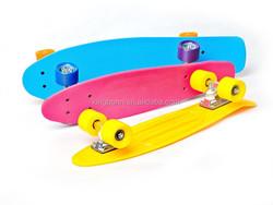 Aluminum truck penny skateboard