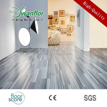 2015 new sale laminate flooring with plastic click lvt factory promotion price