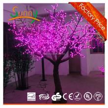 led light changing color tree,led cherry tree light,unique simulation christmas lights