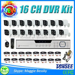 16 ch 800TVL IR-Cut security Camera System with CCD Security Mini Bluetooth Camera