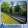1.2m-2.1m High security hot galvanized welded tubular wrought iron fence