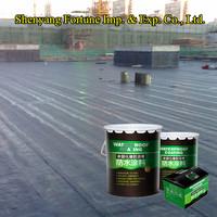 Non-Curing Liquid Rubber Asphalt Waterproof Shingle Roof Coating ( FT-AQ5 )