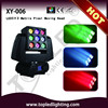 Continous Rotation and High speed Sound-active LED 3x3 RGBW beam 5r Matrix Pixel 230w sharpy 7r beam moving head light