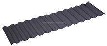 Two layers corrugated roofing 0.5mm pvc sheets black