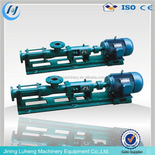 single screw helical pump high viscosity paste progressive cavity pump