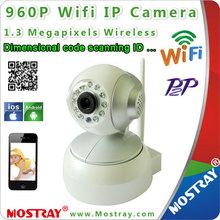 H. Megapíxeles 264 deinterior de la red de vigilancia de mini cámarainalámbricaip