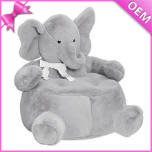 handmade 50cm soft elephant baby plush animal sofa chair