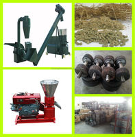 380V,15KW,2 phas electric powered poultry feed pellet mill/poultry feed pellet machine/poultry feed pelletizer