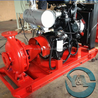 Diesel Engine Fire Fighting Pumps With Explosion-proof Control Panel