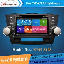 car multimedia system with radio/GPS/DVD/bluetooth for TOYOTA Old Highlander