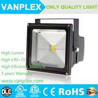 High Lumen Bridgelux COB waterproof ip65 Outdoor 50W 100w 150w LED Flood Light
