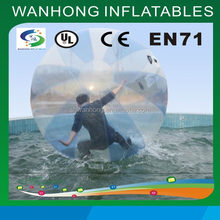 Water walking ball in park for kids, high quality inflatable water walking ball, lovely inflatable water ball for sale