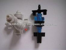 one way &four way dripper irrigation fogger