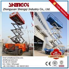 Henan Famous Brand Hydraulic Lifting Platform