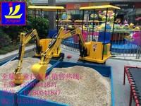 indoor amusement park equipment,entertainment children excavator,mini toy excavator
