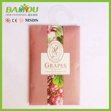 hot new products for 2015 Home Air Freshener Use paper wardrobe fragrance sachet